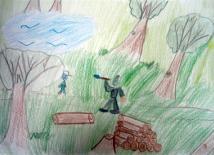 Érsekújvári alapiskolás rajza